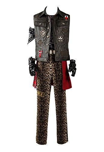 Final Fantasy XV FF15 Prompto Argentum Outfit Cosplay Kostüm Herren L