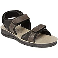 PARAGON Men's Brown Sandals-9 UK/India (43 EU) (PV0400G)
