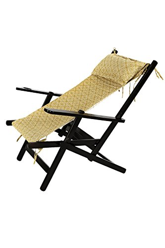Easy, Relax, Comfortable Wooden Foldable Easy Chair Made With Acacia Wood With Canvas Fabric