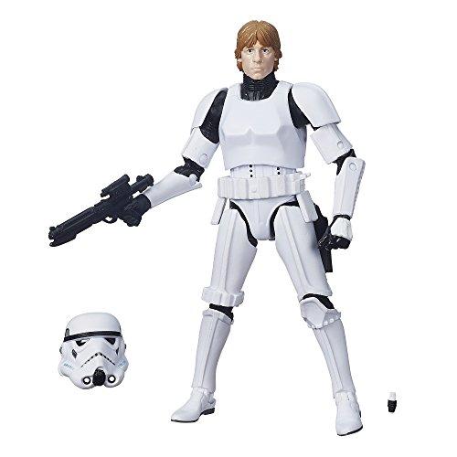 Star Wars El Negro Serie Luke Skywalker (disfraz Stormtrooper) 15cm Figura