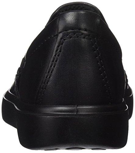 Ecco S7 Teen, Sneakers Basses Mixte Enfant Noir (Black/black)