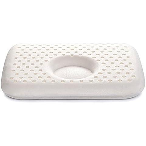 100% schiuma di lattice-Cuscino per bambini, a testa piatta per evitare cuscini per bambini da 0 a 3 anni, 11,8 by 24,89 (9,8