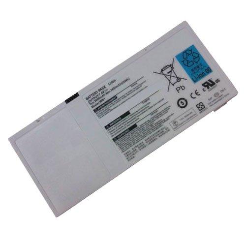 """amsahr 2UF553450-3-TO318-02 Ersatz Batterie für Gigabyte """"(7.4 V, 3600 mAh)"""" schwarz"""