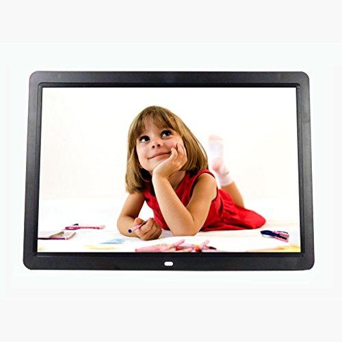 Digitale Bilderrahmen Elektronischer Foto-Rahmen-Video-Multimedia-Digital-Fotorahmen/schmaler breiter Bildschirm/1080P HD Video/Supermarkt-Speicher LED-Werbungs-Anzeige 15.4inch (Farbe : - Multimedia-digital-speicher -