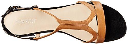Nine West Nwwhollymole Damen Sandalen beige (NATURAL/NEGRO)