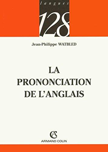 La prononciation de l'anglais