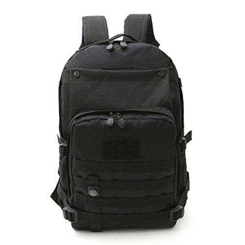 F@Camuffamento digitale Zaini alpinismo casual, assalto militare tattico outdoor zaino zaino borsa campeggio , D E