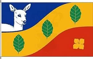 Königsbanner Hochformatflagge Rehhorst - 150 x 500cm - Flagge und Fahne
