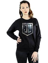 DC Comics Women's Justice League Movie Shield Sweatshirt