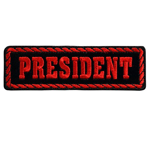 red-officer-president-high-thread-embroidered-iron-on-saw-on-rayon-patch-4-x-1