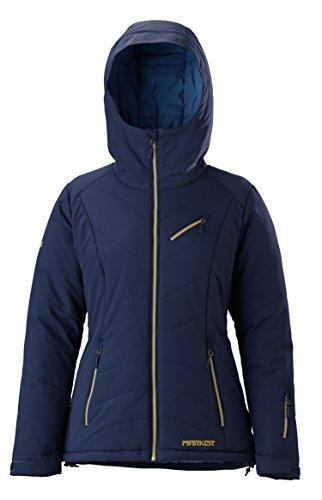 Marker Damen Snowdancer Jacke, Damen, Indigoblau, X-Small (Ski-jacke Marker)