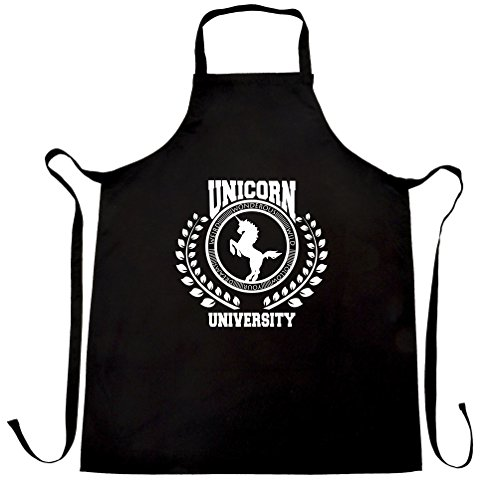 always-be-a-unicorn-university-of-magic-witchcraft-life-apron-black