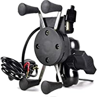 Generic Bike Mobile Holder with USB 2.0 Fast Charger