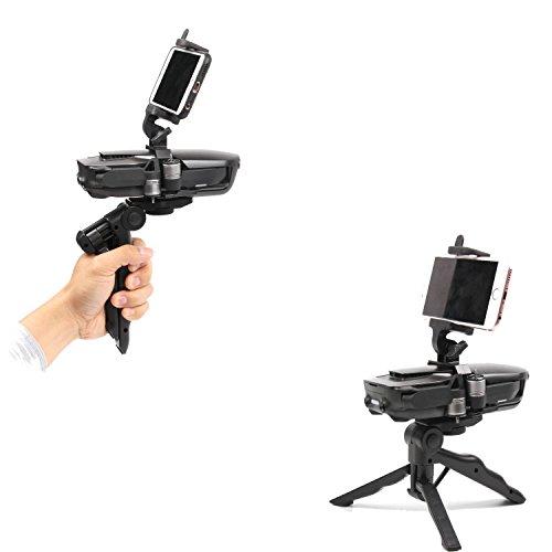 Kismaple Adjustable Angle Handheld Gimbal Camera Stabilizer Bracket, Portable Tripod Gimbal Kit for DJI Mavic Air Drone Accessories