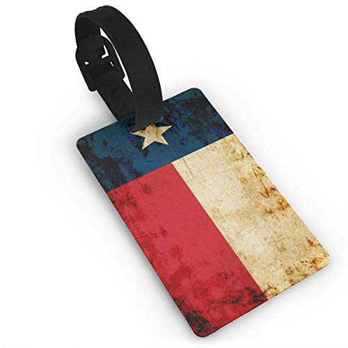 Texas State Flag Luggage Tags ID Convenience Accessioes