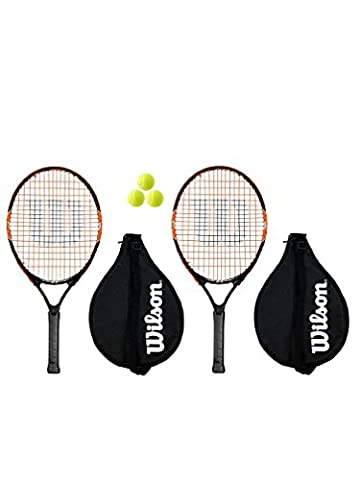 Head Radical 2 x 23-Raquette de Tennis Junior 3 balles incluses
