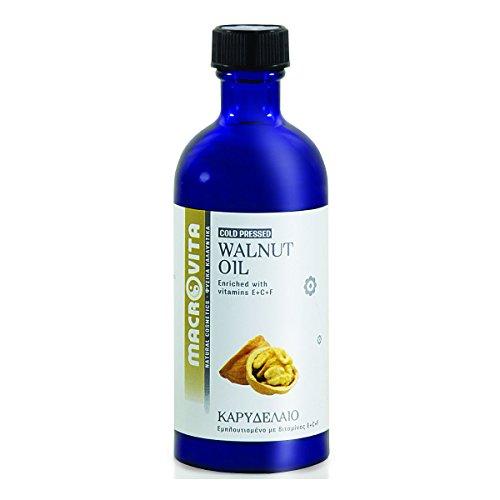 MACROVITA WALNUT OIL WITH VITAMIN COMPLEX E+C+F 100 ML.