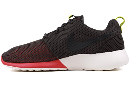 Nike Rosherun 511881 Herren Low Top Sneaker  41 EUSchwarz (Schwarz / Schwarz)