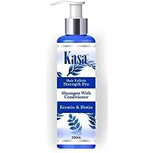 Kasa Shampoo With Conditioner With Keratin & Biotin - 200 Ml