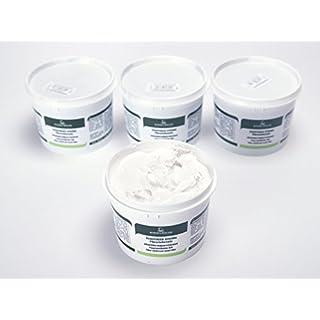 Faserverstärkter Holzkitt Spachtelmasse Extra Strong 1 Kg (Weiss - 50)