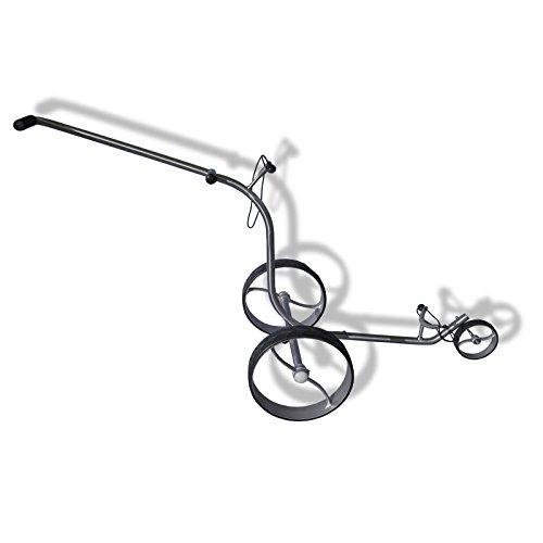 exklusiver Edelstahl Golftrolley Caddy aus Edelstahl 3-Rad sehr edles Design EZ-001A