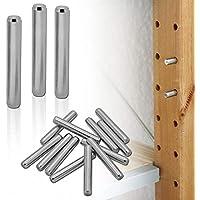 tumundo Soporte de Estante para IKEA Ivar Muebles Alfileres Clavijas Soporte Metal Set Kit Acero Inoxidable