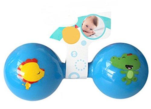 Abenily Mögliche Spielsachen Kinder Pädagogische Bunte Sensorische Weiche Glocke Klingel Rassel Hantel Kinder Funnny Spielzeug Geschenk
