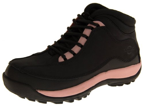 Footwear Studio, Scarpe antinfortunistiche donna, (Black & Pink), 40
