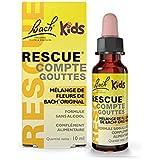 Rescue Kids Compte-gouttes, La sérénité pour toute la famille, sans alcool, Vegan, Complément alimentaire, 1 Flacon Compte Go