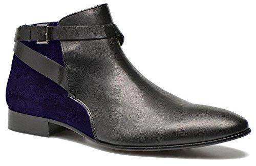 Chaussures classic model Clark en Daim et cuir par HGilliane Design Eu 33 au 46 blue