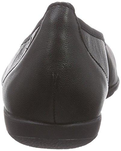 Caprice  22102, Ballerines fermées femme Noir (blk Na/blk Pat 025)