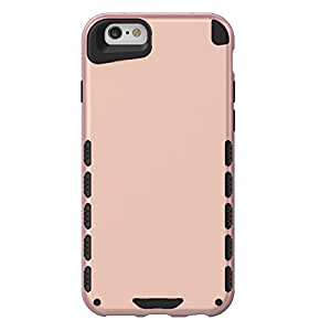 iPhone 6 Case, (CUBIX) Armor Robot Cover [Anti Scratch] Slim-Fit Two Layer Defender Bumper Back cover For Apple iPhone 6 (Rose Gold)