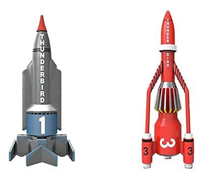 "Hornby """"Corgi Thunderbirds TB1und TB3"""" Spritzgußmodell (grau/rot) von Corgi"
