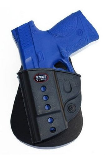 Fobus Thigh Rig: Drop Leg Extensión Unit with a Left Hand Gun Paddle Holster. Model: swmp-Lh-exnd
