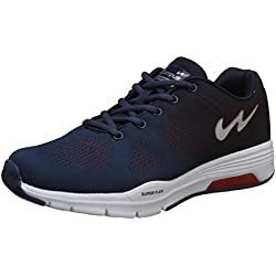 Campus Men's Quantum Navy/Black/Red Running Shoes