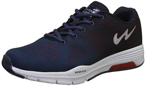 Campus Men's Quantum Navy/Black/Red Running Shoes