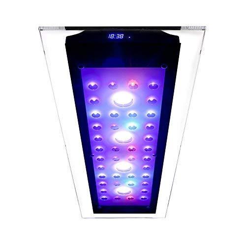 Interne Luft (eSmart Germany Sea Nemo Glass 3-220 Watt Aquariumbeleuchtung für Meerwasser | Programmierbar | inkl. Kühlung | Aquarium Beleuchtung Aquarium Leuchte Aquarium Lampe)