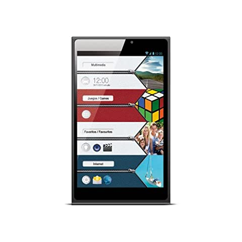 Vexia Zippers Tablette Avec écran GPS, 20,3cm (8pouces), WiFi, Bluetooth, Intel Atom Z2580, 1Go de RAM, Android 4.2.2, bleu