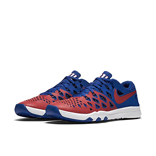Nike Train Speed 4 AMP NFL New York Giants Limited Edition Shoes Size 10.5 - Gym Red & Rush Blue - New York Giants-stoff