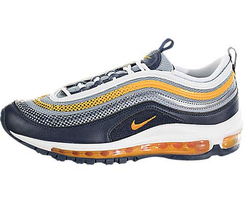Nike Air Max 97 RF, Mehrfarbig - Midnight Navy/Laser Orange/Marine Minuit/Orange Laser - Größe: 38.5 EU