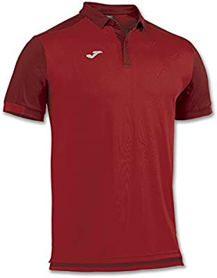 Joma - Polo comfort rojo m/c para hombre