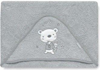 pirulos 00713030–maxicapa, Motiv Bär, 100x 100cm, Farbe grau