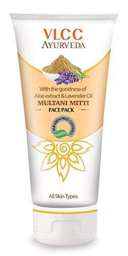 VLCC Ayurveda Multani Mitti Face Pack (50ML, Pack of 4)