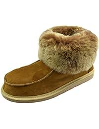 Heitmann 385 - Zapatillas de casa de piel de oveja unisex qry3985