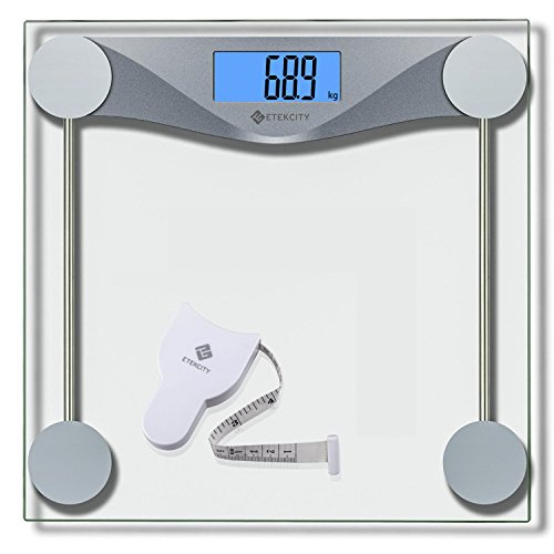 Etekcity® 4074C Báscula de Baño Digital de Alta Medición Precisa 180kg /...