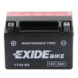 exide fulmen ytx9 bs batterie de moto avec acide. Black Bedroom Furniture Sets. Home Design Ideas