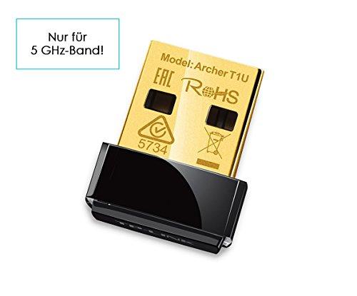 TP-Link Archer T1U Nano Adaptateur USB Wi-Fi AC 450 Mbps (433 Mbps, 5 GHz, IEEE802.11ac/n/a)