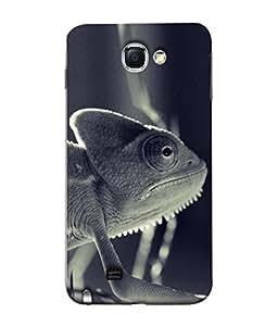 PrintVisa Jugle Animal 3D Hard Polycarbonate Designer Back Case Cover for Samsung Galaxy Note 2 :: Samsung Galaxy Note Ii N7100