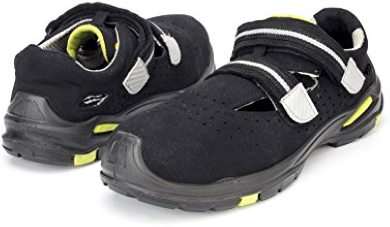 Delta Plus Goult S1P SRC Homme Cuir Noir Travail Acier Embout Chaussures De Sécurité PPE