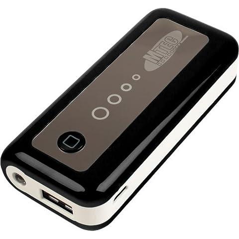 MTEC *5600mAh* externa Power Bank Batería para Samsung Galaxy S5 / S4 Mini / S3 / S3 Mini / S2 / Note / Note 2 / Note 3 / Ace / Y / Galaxy Tab / Sony Xperia Z2 / Z1 / Compact / Z / M / HTC One / M8 / One mini / One mini 2 / Desire 310 / Motorola Moto G / Moto X / LG G3 / G2 / G2 Mini / Google Nexus 5 / L90 / Huawei Ascend Y530 / Y300 / G6 / 6 / Apple iPhone 5 / 5S /